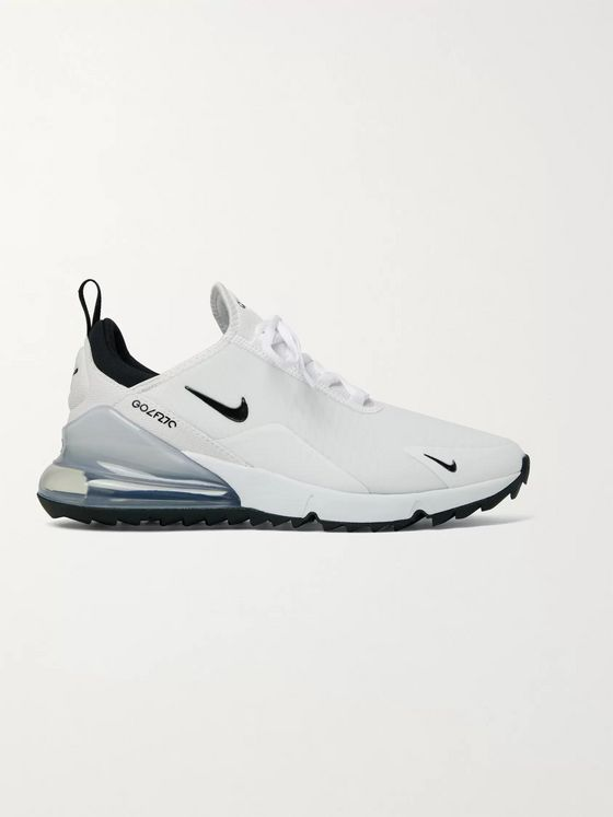 NIKE GOLF Air Max 270 G Coated-Mesh Golf Sneakers