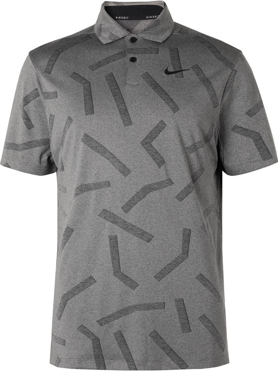 Nike Golf Vapor Jacquard Dri-FIT Golf Polo Shirt