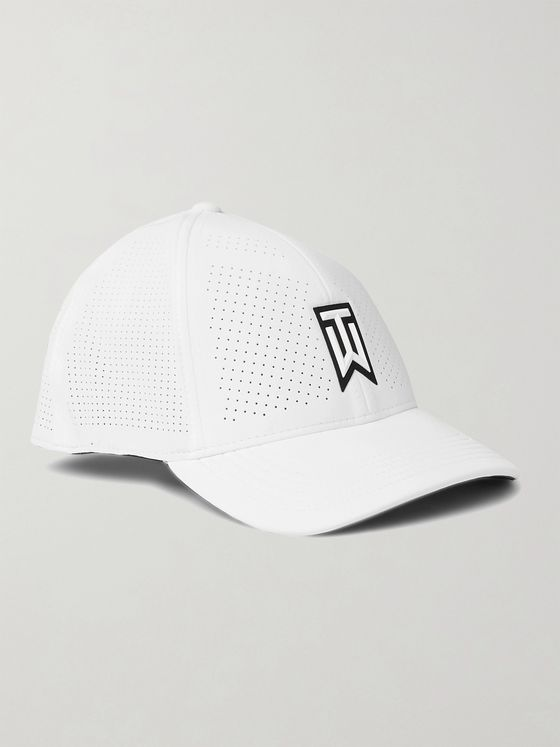 Nike Golf + Tiger Woods Nike AeroBill Heritage86 Perforated Tech-Jersey Baseball Cap