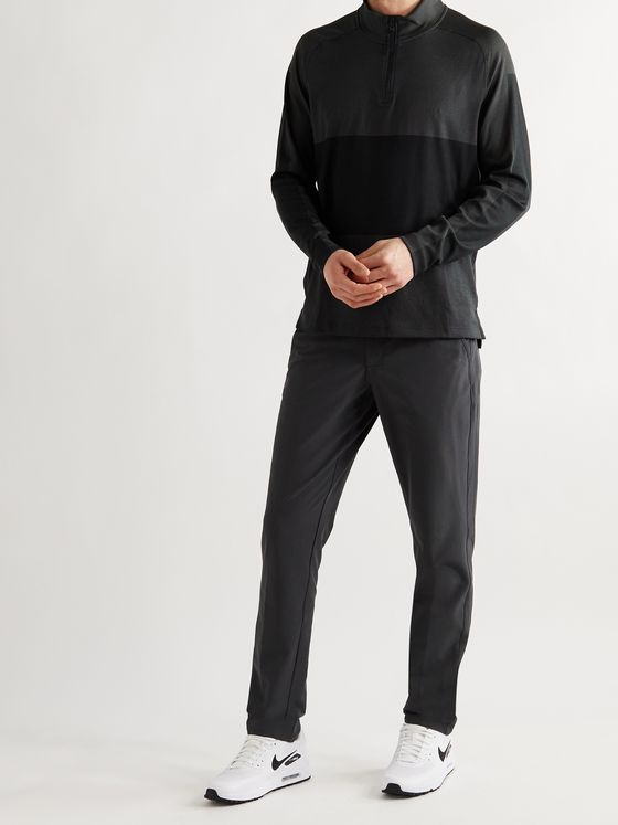 NIKE GOLF Vapor Dri-FIT Piqué Half-Zip Golf Top