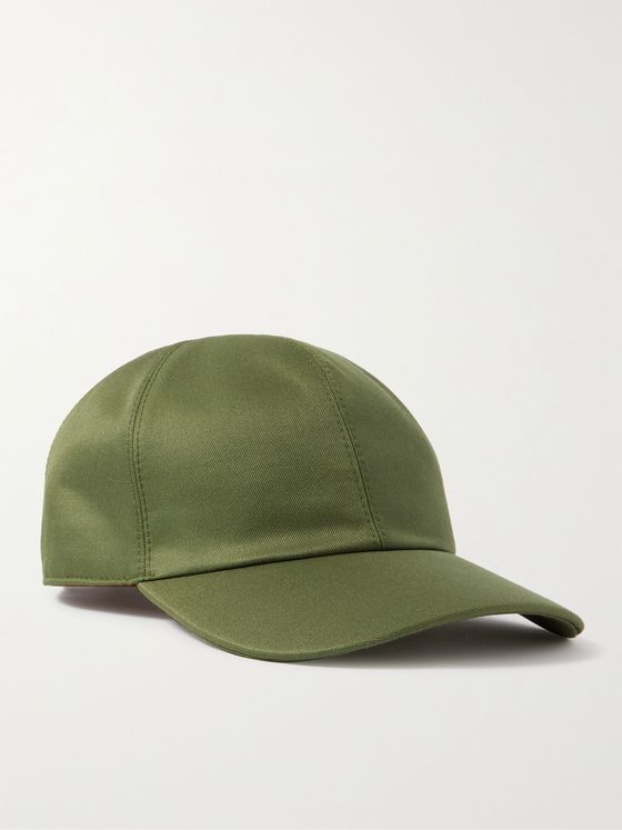 LORO PIANA Remington Silk-Twill Baseball Cap