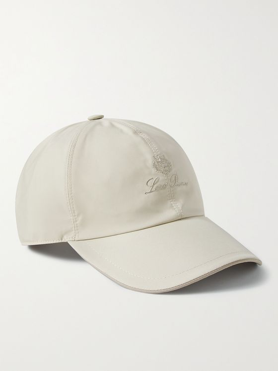 LORO PIANA Logo-Embroidered Storm System Baseball Cap