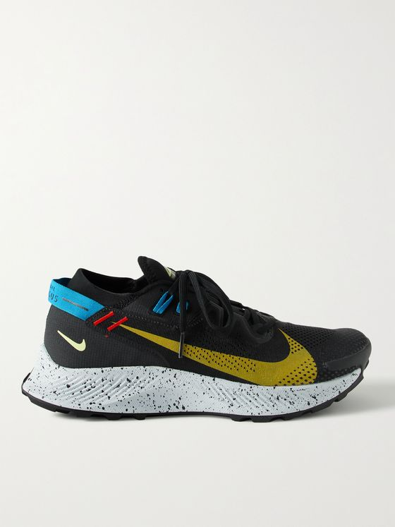 NIKE RUNNING Pegasus Trail 2 GORE-TEX, Ripstop and Neoprene Running Sneakers