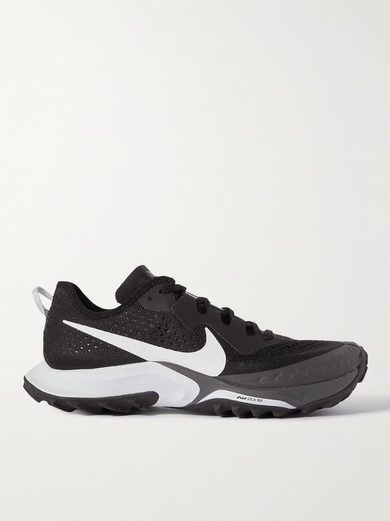 NIKE RUNNING Air Zoom Terra Kiger 7 Rubber-Trimmed Mesh Running Sneakers