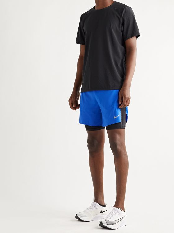 Nike Running Flex Stride Run Division Slim-Fit 2-in-1 Dri-FIT Drawstring Shorts