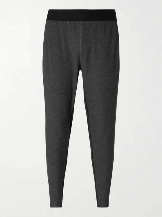 Nike Training Tapered Dri-FIT Cotton-Blend Jersey Yoga Sweatpants