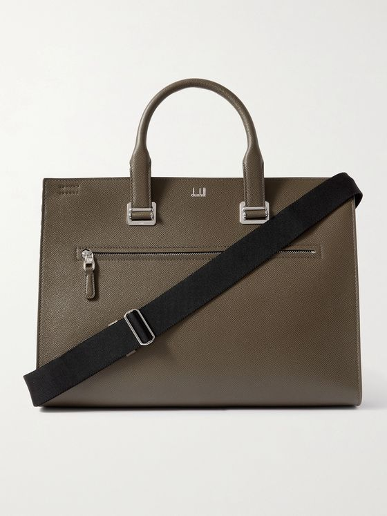 DUNHILL Cadogan Leather Briefcase
