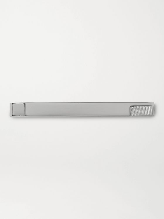 DUNHILL Rhodium-Plated Tie Pin