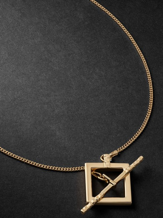 LAUD 18-Karat Gold Necklace
