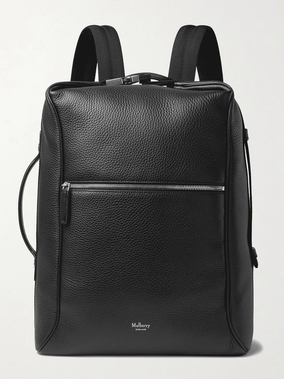 MULBERRY Urban Full-Grain Leather Backpack