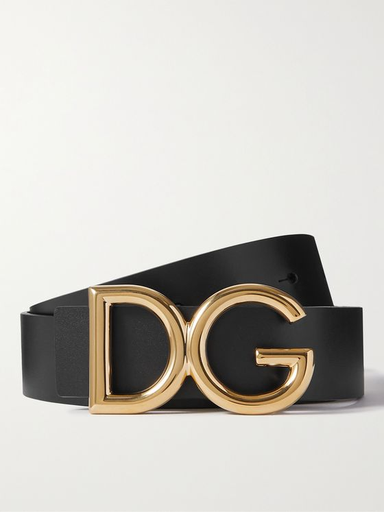 DOLCE & GABBANA 3.5cm Leather Belt