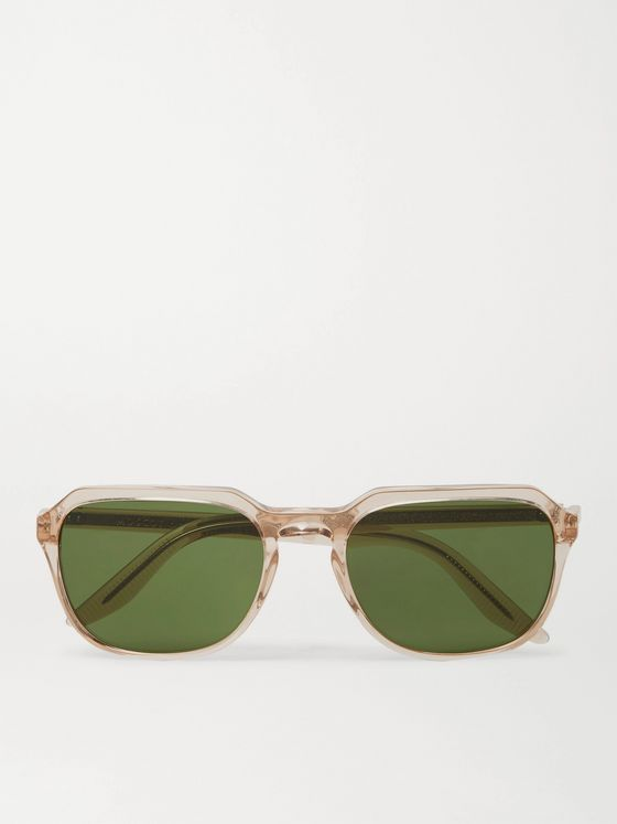 Moscot Haskel Sun Square-Frame Acetate Sunglasses
