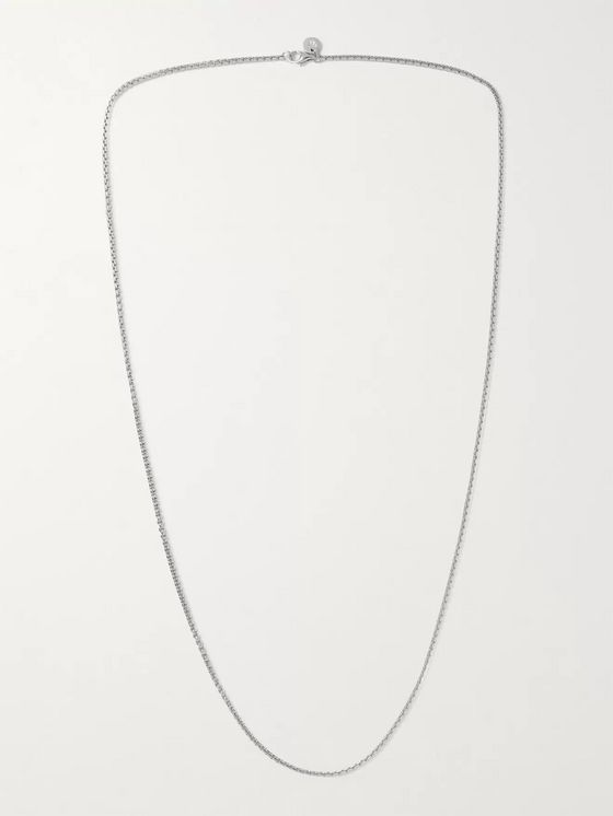 TOM WOOD Venetian Sterling Silver Necklace
