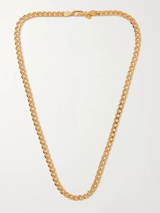 MARIA BLACK Forza Gold-Plated Chain Necklace