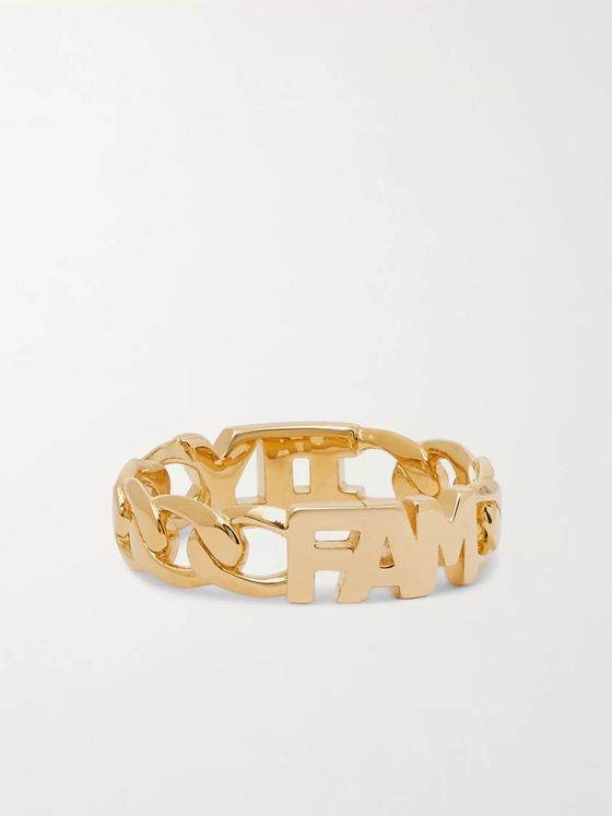 MARIA BLACK Family Gold-Plated Ring