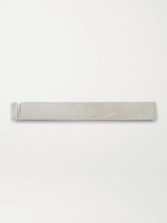 ALICE MADE THIS Bancroft Sterling Silver Tie Clip