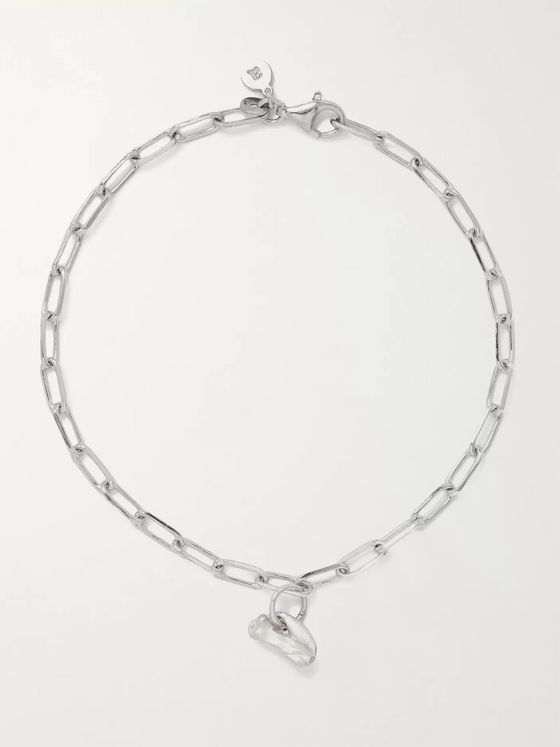 Alice Made This Bardo Rhodium-Plated Chain Bracelet