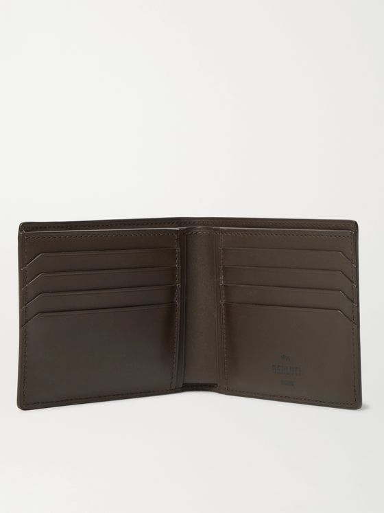 BERLUTI Scritto Leather Billfold Wallet with Cardholder