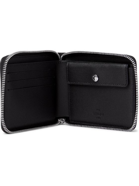 BERLUTI Scritto Venezia Leather Zip-Around Wallet