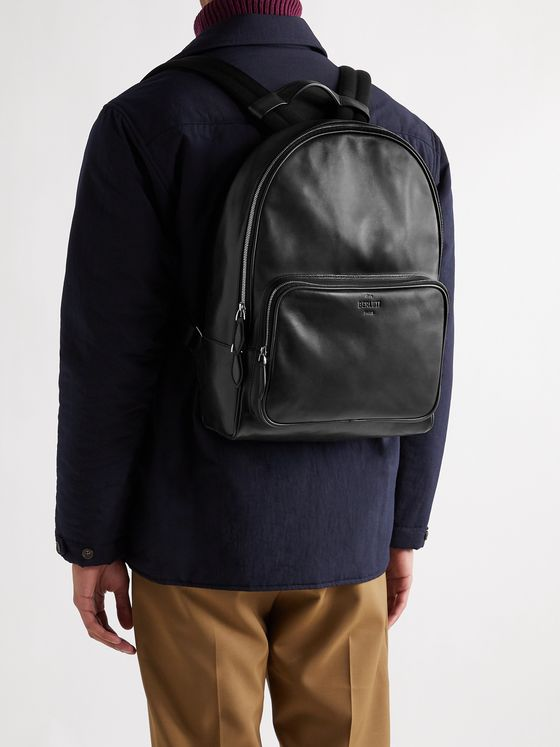 BERLUTI Time Off Leather Backpack