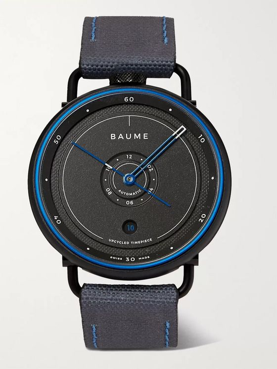 Baume Ocean Limited Edition Automatic 42mm Plastic, Aluminium and SEAQUAL Canvas Watch, Ref. No. 10587