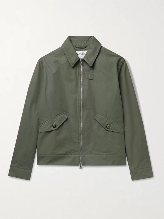 Valstar Cotton-Blend Twill Jacket