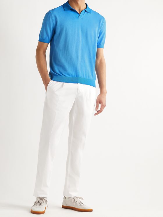 ALTEA Dégradé Cotton Polo Shirt