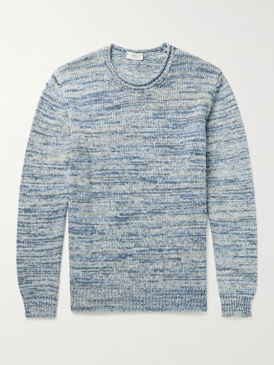 ALTEA Mélange Cotton Sweater