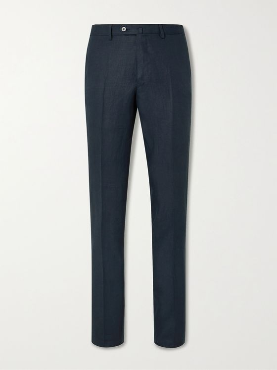 Caruso Linen Suit Trousers