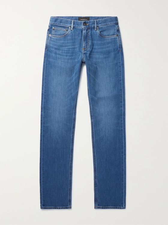 ERMENEGILDO ZEGNA Stretch-Denim Jeans