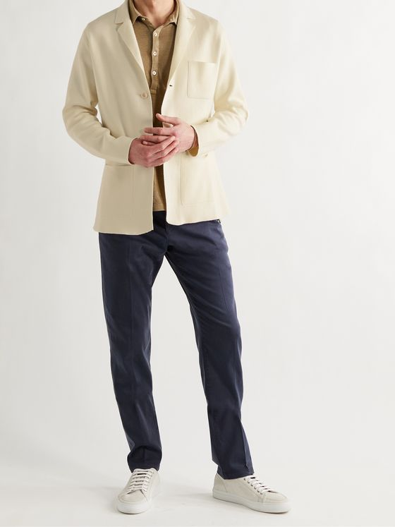 BOGLIOLI Slim-Fit Cotton Cardigan