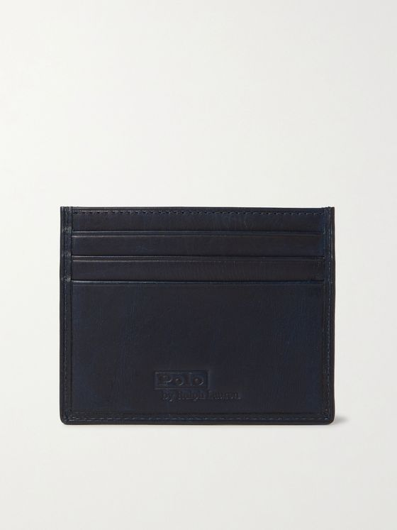 POLO RALPH LAUREN Printed Leather Cardholder