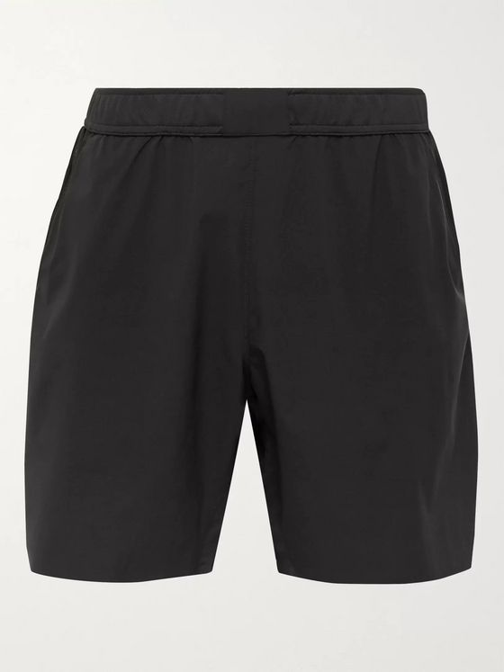 REIGNING CHAMP Mesh-Panelled Shell Shorts
