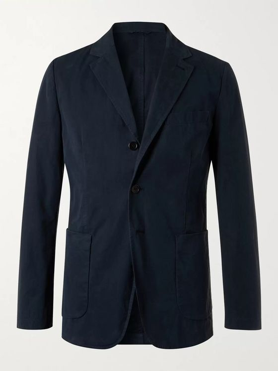 ASPESI Unstructured Cotton Blazer