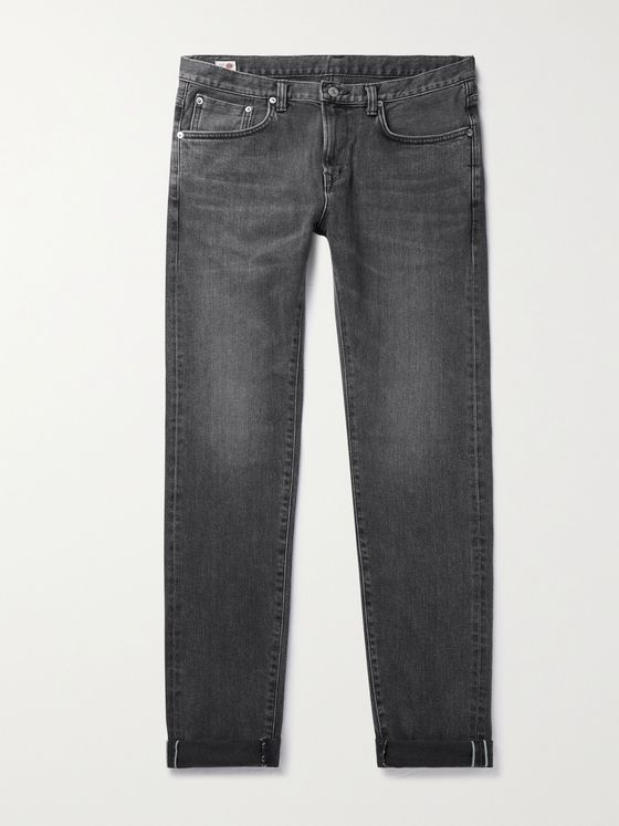 EDWIN Kaihara Slim-Fit Tapered Selvedge Denim Jeans