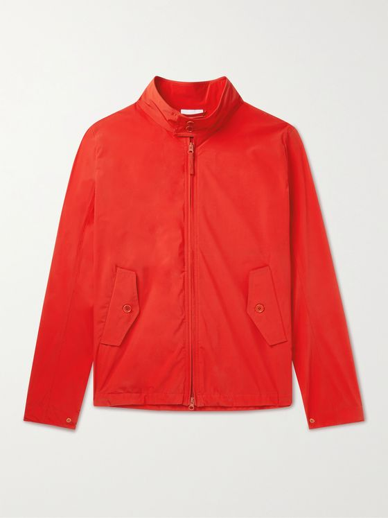 ASPESI Stretch-Nylon Harrington Jacket