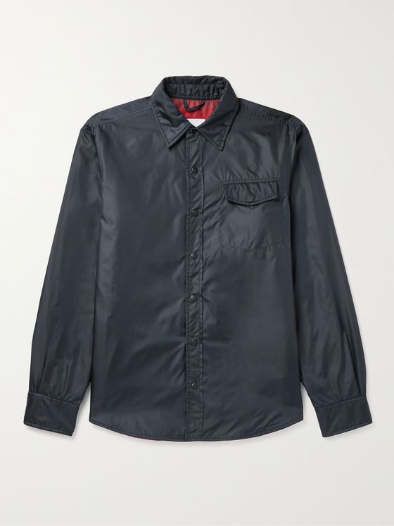 ASPESI Slim-Fit Padded Nylon Overshirt