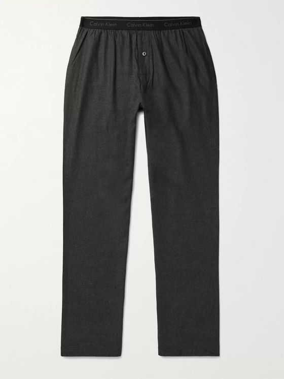 CALVIN KLEIN UNDERWEAR Cotton-Blend Pyjama Trousers