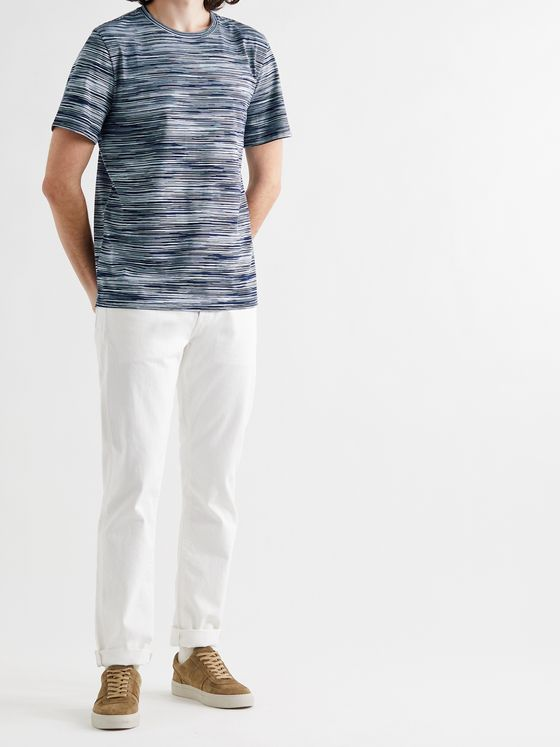 MISSONI Space-Dyed Cotton-Jersey T-Shirt