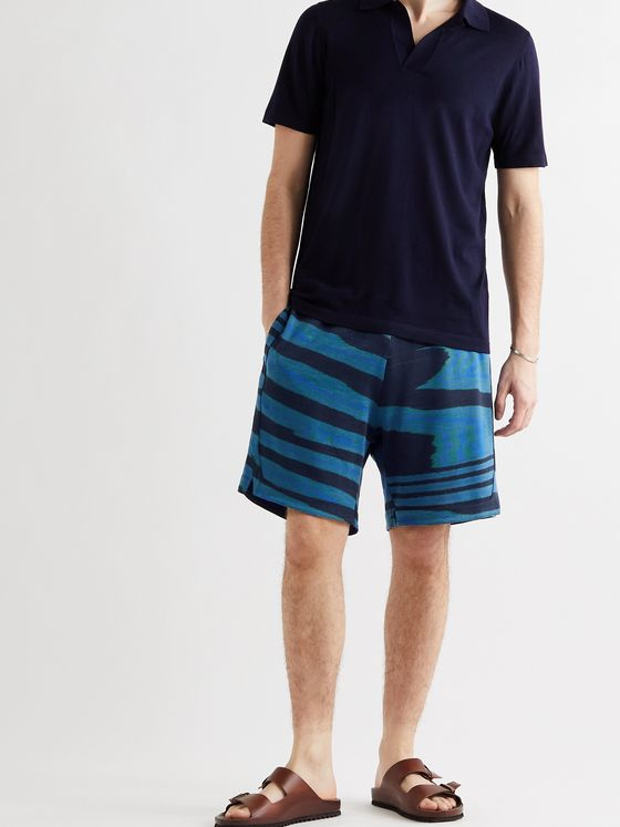 MISSONI Printed Cotton Bermuda Shorts