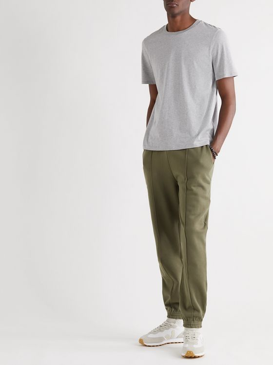 Ninety Percent Loopback Organic Cotton-Jersey Sweatpants