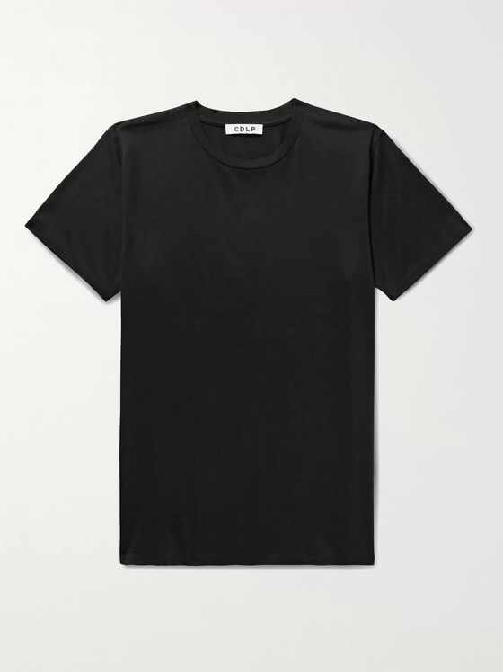 CDLP Lyocell and Pima Cotton-Blend Jersey T-Shirt