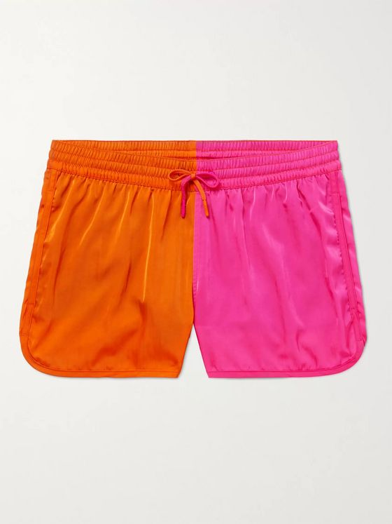 CDLP + Cuixmala Two-Tone Short-Length ECONYL Swim Shorts