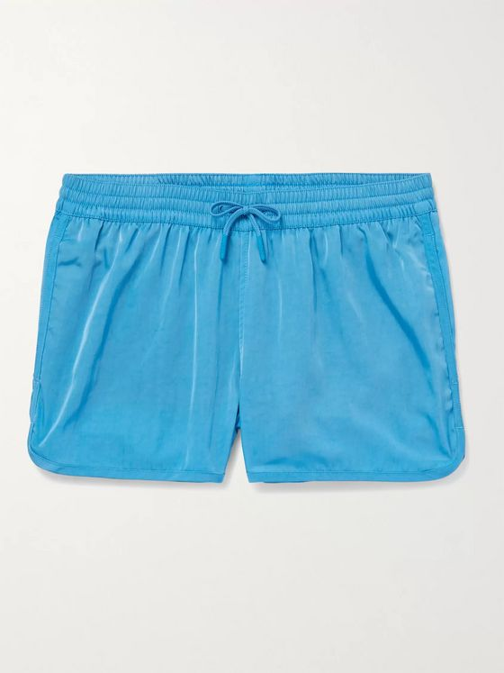 CDLP + Cuixmala Short-Length ECONYL Swim Shorts