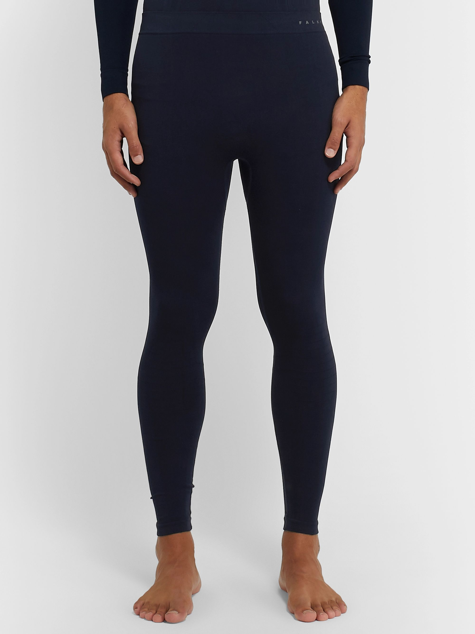FALKE Ergonomic Sport System Maximum Warm Stretch-Jersey Thermal Ski Tights