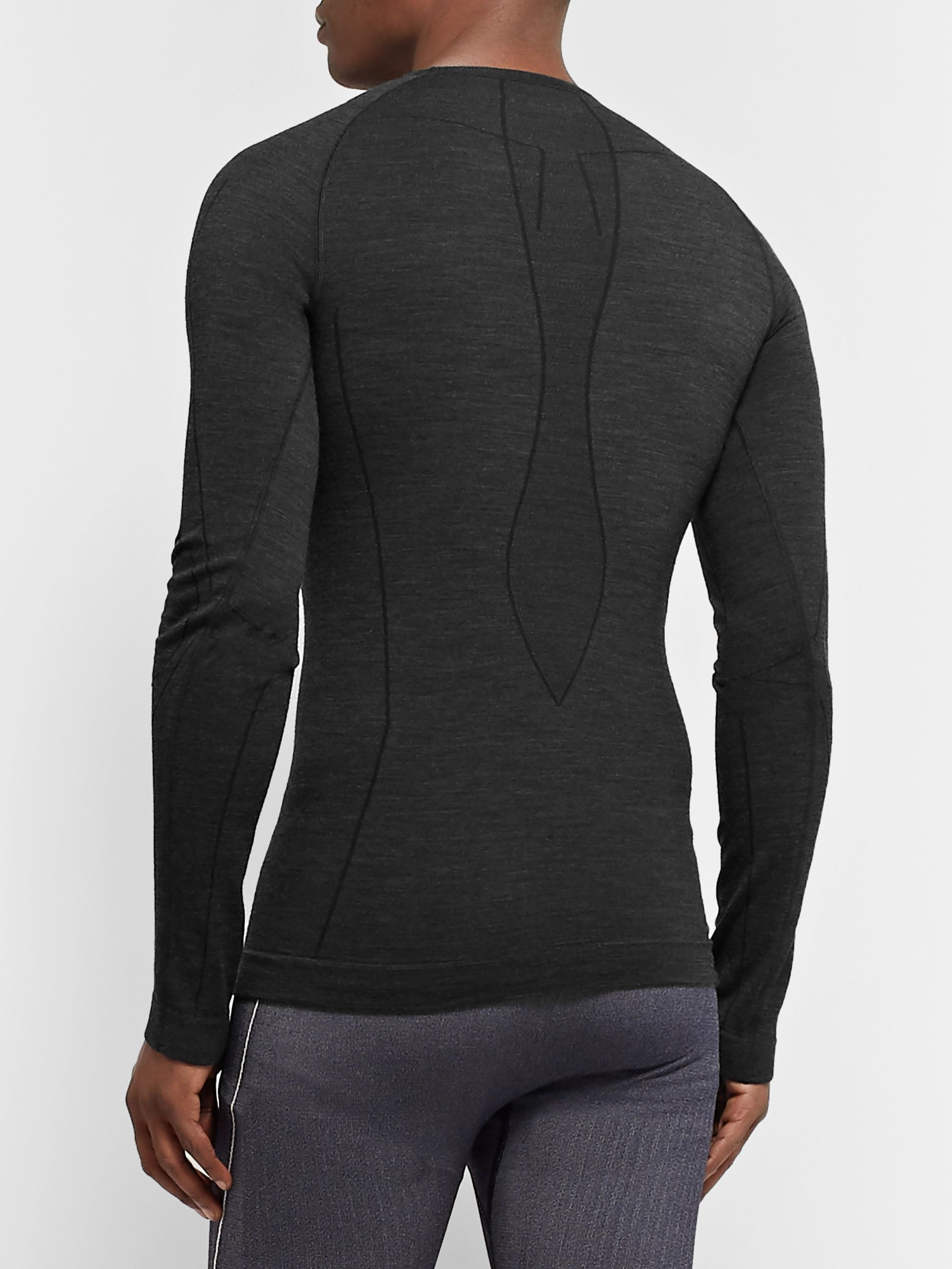 FALKE Ergonomic Sport System Stretch Virgin Wool-Blend Base Layer