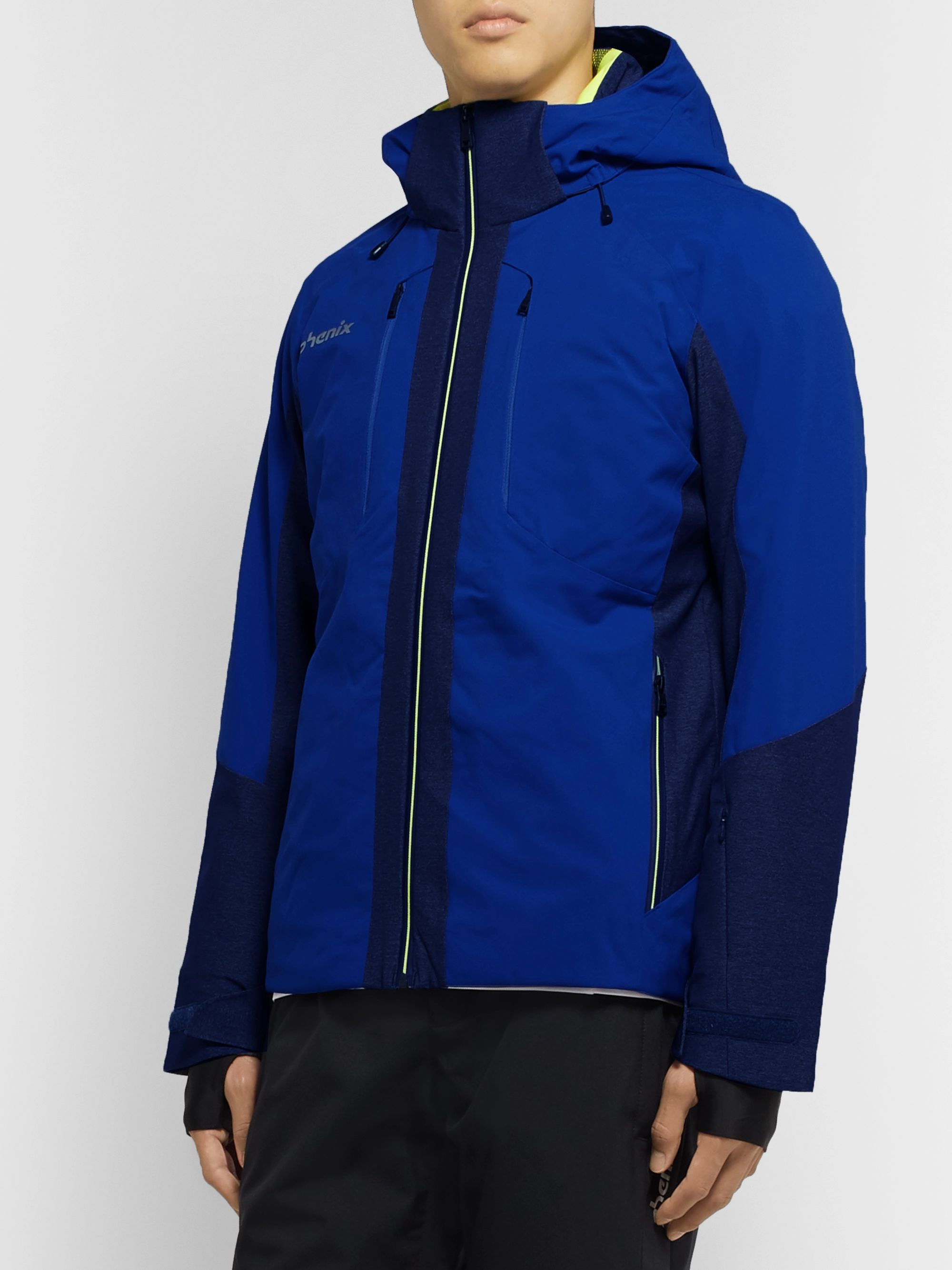 Phenix Niseko Panelled Phenix 20,000mmH2O Hooded Jacket