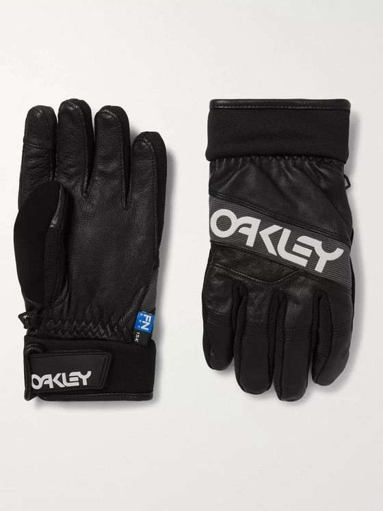 Oakley Factory Winter 2 FN Dry and Leather Gloves