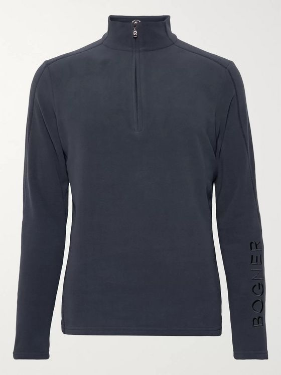 Bogner Harrison Fleece Half-Zip Base Layer