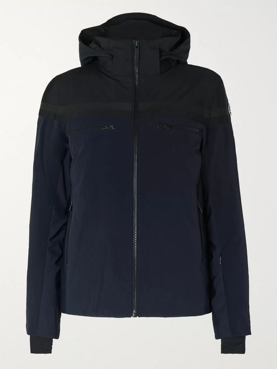 Fusalp Alfonse Slim-Fit Two-Tone Padded Hooded Ski Jacket